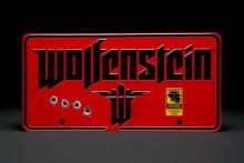 Wolfenstein Metal Sign The New Colossus