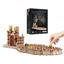 Game of Thrones 3D Puzzle Kings Landing (260 pieces)