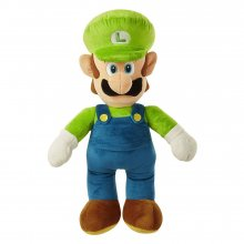 World of Nintendo Jumbo Plyšák Luigi 50 cm