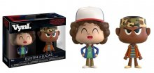 Stranger Things VYNL Vinyl Figures 2-Pack Dustin & Lukas 10 cm