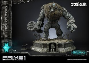 Shadow of the Colossus Statues First Colossus & First Colossus E