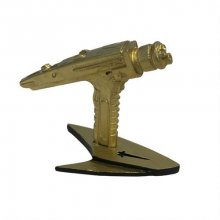 Star Trek KUZO Diecast Mini Replica Starfleet Hand Phaser Gold V