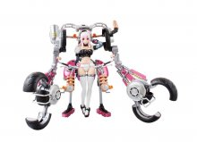 Nitro Super Sonic AGP Action Figure Super Sonico with Super Bike