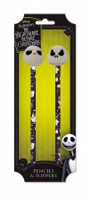 Nightmare Before Christmas Pencil with Topper 2-Pack