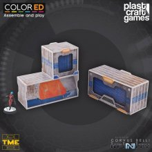 Infinity ColorED Miniature Gaming Model Kit 28 mm TME Container
