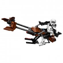 LEGO Star Wars akční figurka Scout Trooper & Speeder Bike