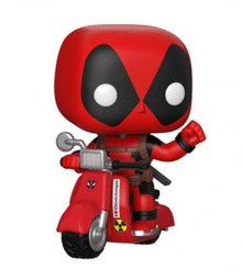 Deadpool POP! Rides Vinylová Figurka Deadpool & Scooter 10 cm
