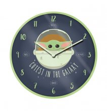 Star Wars The Mandalorian Wall Clock Cutest In The Galaxy