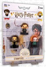 Harry Potter Stamps 3-Packs Wizarding World 4 cm