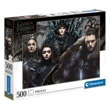 Game of Thrones skládací puzzle House Stark (500 pieces)
