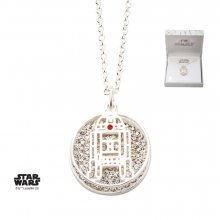 Star Wars Pendant & Necklace R2-D2 (silver plated)