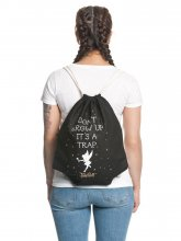 Peter Pan Gym Bag Tinkerbell Don't Grow Up