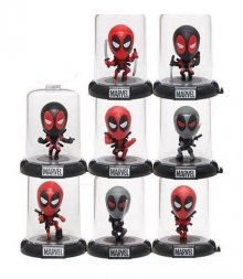 Deadpool Domez mini figurky 7 cm Series 1 Display (24)