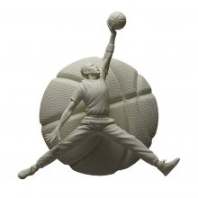 NBA Sculpture Collection Statue 1/6 Michael Jordan Gypsum Editio