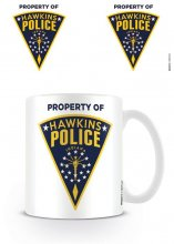 Stranger Things Hrnek Hawkins Police Badge