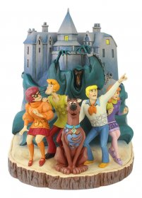 Scooby-Doo Socha Carved by Heart 23 cm
