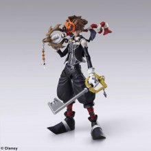 Kingdom Hearts II Play Arts Kai Akční figurka Sora Halloween Tow