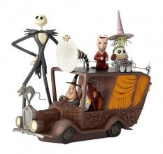 Disney Showcase Collection Socha Mayor Car (Nightmare Before Ch
