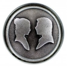 Star Wars Click Badge Han Solo & Leia