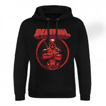 Deadpool slim fit mikina Pose Epic Hoodie