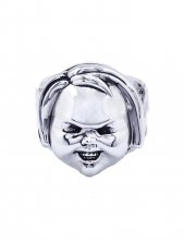 Child's Play 2 Ring Good Guy's Chucky (Plated Brass) Size 09
