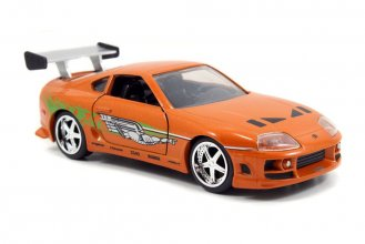Fast & Furious kovový model 1/32 1995 Toyota Supra (Orange)