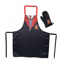 Harry Potter cooking apron with oven mitt Nebelvír School Unif