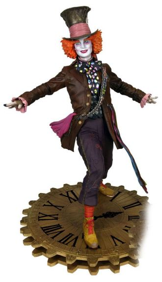 Alice Through the Looking Glass Gallery PVC Statue The Mad Hatte