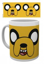 Adventure Time Mug Jake Face