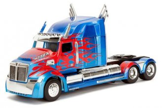 Transformers The Last Knight Diecast Model 1/24 Optimus Prime We