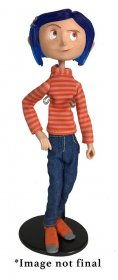 Coraline Articulated Figure Coraline in Striped Shirt and Jeans