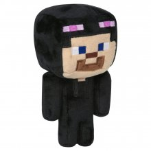Minecraft Happy Explorer Plyšák Enderman Steve 18 cm