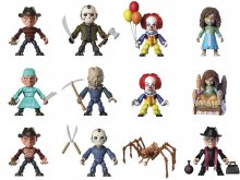 Horror Action Vinyl mini figurky 8 cm Wave 1 Display (12)