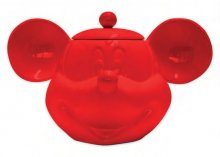 Mickey Mouse 3D Cookie Jar Red