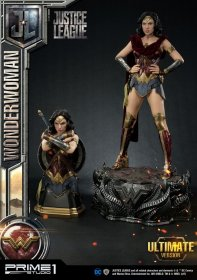 Justice League Socha & Bust Wonder Woman Ultimate Version 85 cm