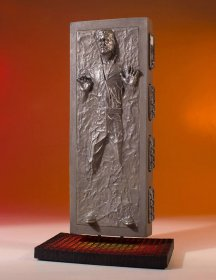Star Wars Collectors Gallery Socha 1/8 Han Solo in Carbonite 24