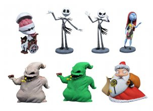Nightmare before Christmas D-Formz PVC Figures Series 1 Assortme