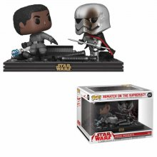 Star Wars POP! Movie Moments Vinyl Bobble-Head 2-Pack Finn vs Ca