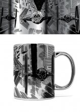 Star Wars Metallic Mug TIE Attack