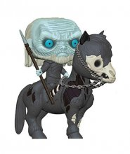 Game of Thrones POP! Rides Vinylová Figurka White Walker on Hors