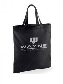 Batman Tote Bag Wayne Industries
