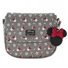 Disney by Loungefly Crossbody Minnie Head & Flower Print