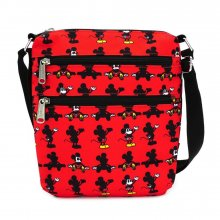 Disney by Loungefly Passport Bag Mickey Parts AOP