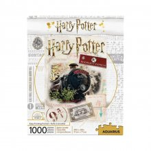 Harry Potter skládací puzzle Bradavice Express Ticket (1000 piec