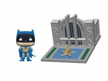 Batman 80th POP! Town Vinylová Figurka Batman & Hall of Justice