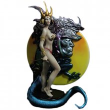 Fantasy Figure Gallery socha Dragon Maiden (Boris Vallejo) 34 cm