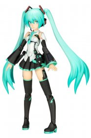 Hatsune Miku Frame Arms Girl plastový model kit Frame Music Girl