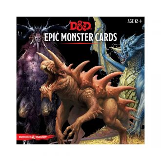 Dungeons & Dragons Monster Cards: Epic Monsters *English Version