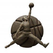 NBA Sculpture Collection Statue 1/6 Michael Jordan Ivory Edition