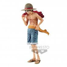 One Piece magazine PVC Socha Monkey D. Luffy Cover of 20th Anni